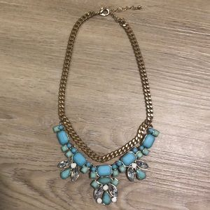 Jewelry - Light Blue Statement Necklace